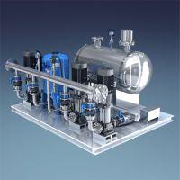 延安富县大量批发无负压供水设备 不锈钢无负压机组 ABB变频器恒压设备 RJ-P54