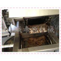 鱼豆腐油炸生产线 希源牌XYDZ-5000自动油炸设备直销 带过滤
