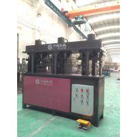 销售DCC管材液压打孔机械设备