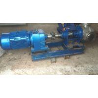 厂家供应NYP不锈钢夹套转子泵-无锡昱恒高粘度齿轮泵品质保证