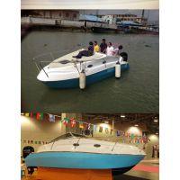 厂家直销6.5M 新型超强塑料合金新材料快艇
