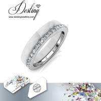 戴思妮 水晶戒指女 采用施华洛世奇元素 饰品 厂家直销