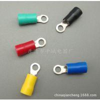厂家直销冷压接线端子 RV5.5-4S圆形预绝缘端头 二次线耳 线鼻子