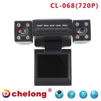 2inch Wholsale car DVR dual camera recorder HD/1080P 068DVR