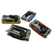 JSZ多功能组合工具 自行车修车工具 带截链器 修车套装