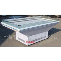 上海厂家直销海鲜冷藏柜敞口式海鲜展示柜