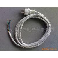 【企业集采】厂家优质供应VDE两极欧标编织线电源插头