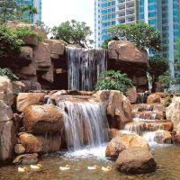 供应假山流水喷泉、大型假山流水、景观塑石设计.