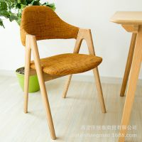 淘宝热销北欧简约实木经典款水曲柳实木椅子宜家简约 实木椅