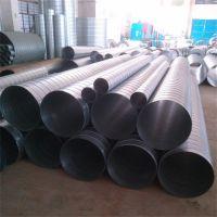 江大螺旋风管热镀锌工艺生产耐腐蚀 可适用于各种强酸、碱雾气等强腐蚀环境