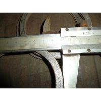 DN100法兰金属缠绕垫片价格 带内外环缠绕垫片