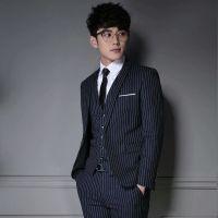云南夏季新款男士职业装定做搭配经典男士套西
