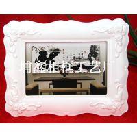 【热销新品】现代风格家居树脂相框 样板房摆件