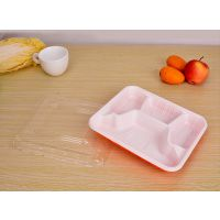 厂家批发销售加厚正方形一次性打包盒塑料餐盒大量现货