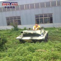 新款申扬仿真游乐坦克车大型室外游乐设备