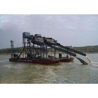 宏川经典产品发往尼日利亚的HCTJC-150抽沙式淘金船