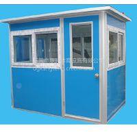 黄江不锈钢保安亭制造 玻璃钢保安亭厂家 塑钢保安亭康腾批发