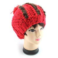 外贸工厂批发毛线针织帽库存 秋冬韩版女士毛线针织帽 毛线针织帽