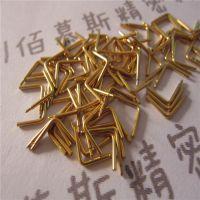 黄铜毛细管加工 H62实心棒车床加工 磨尖 车槽