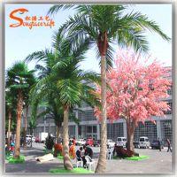 厂家供应 海边假椰子树 仿真海南热带椰子树 仿真棕榈树海藻树