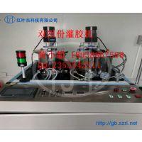 AB双组份灌胶机 液体硅胶自动灌胶机
