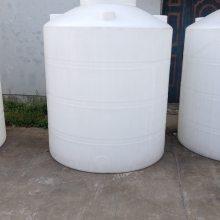 滚塑厂家批发250L食品级小型耐用平底圆柱形PE塑料水箱