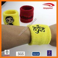 运动时尚纯棉针织刺绣定制护腕