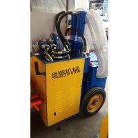 专业制造砂浆输送泵 昊鹏车载式混凝土输送泵 注浆 水泥泵 欢迎订购