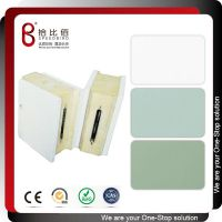 冷冻库侧背墙板用PVC覆膜镀锌彩钢板