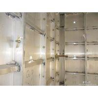 螺杆式穿墙铝合金模板6061-T6铝材质硬度高、轻便、易搬运铝模板
