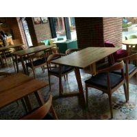 龙岗餐厅桌子定做报价,横岗西餐厅家具,简约现代,行一家具批发