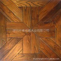 供应厂家直销优质金刚柚实木艺术拼花地板