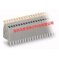 原装正品万可WAGO 234-203 PCB 接线端子条 2个焊针针距 2.5 mm