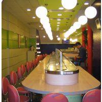 夜市吃涮火锅回转桌