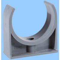 PVC-u管卡鞍卡座卡U型卡塑料管化工用给水用厂家定做环保塑料排卡
