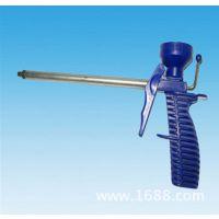 经济型 聚氨脂泡沫填缝枪  喷枪 蓝色 塑料发泡枪