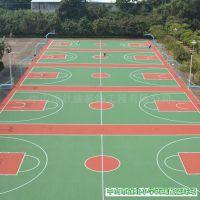 耐磨普宁篮球场地面翻新公园普宁篮球场地面翻新壮宸劲豹