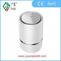 广磊空气净化器厂家 OEM桌面净化器工厂 负离子净化机 USB通电