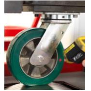 工业脚轮万向脚轮重载2T意大利TellureRota 品牌