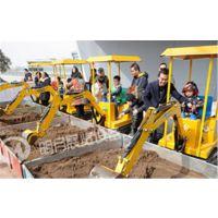 供应各类商场开业策划遥控式体验挖掘机,各类会议活动展览启动球