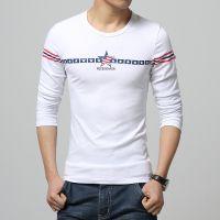 批发2015春秋男士韩版T恤衫 圆领长袖T恤打底衫J50XV000501800