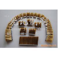 铜丝长条毛刷、不钢丝条刷、尼龙丝条刷、电梯刷