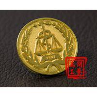 金属纪念币订制 金属活动纪念章制作合金徽章定做
