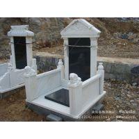 供应传统雪花白中式墓碑石 汉白玉雕刻墓碑 交龙碑定做