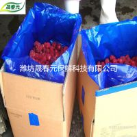 草莓专用晟春元物理活性气调保鲜袋杀菌透气防雾批发定制