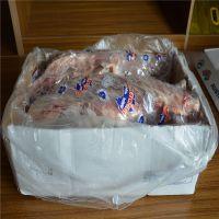 澳大利亚进口冷冻羊腿低价批发烧烤店食材专供每条羊腿3公斤左右