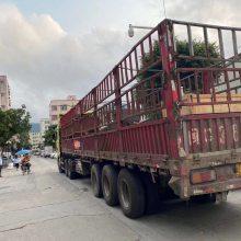 深圳龙岗坪山到江苏南京货车17米5平板货车拖头挂车长途包车运输V