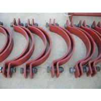 供应长管夹|D2三孔管夹|佰誉管道支吊架配件厂家
