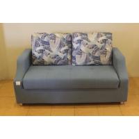 供应单人双人折叠沙发床地中海风格蓝色