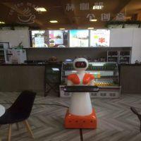 智能送餐迎宾机器人 餐厅酒店酒吧专用款 语音智能送餐服务